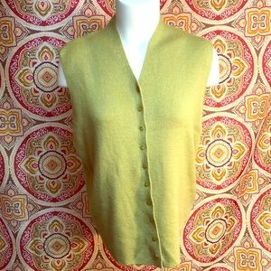Eileen Fisher Merino Wool Vest